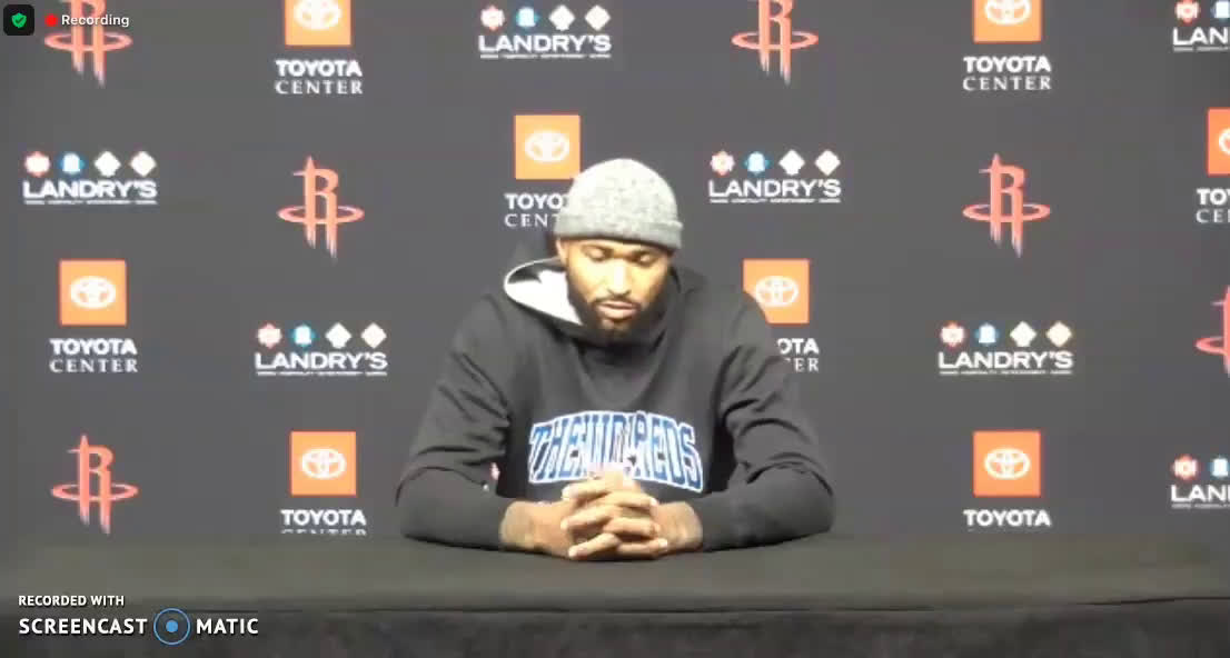 """[DeMarcus Cousins] """"The disrespect started way before any interview. Just his approach to the training camp, showing up the way he did, the antics off the court. The disrespect started way before. This isn't something that all of a sudden happened last night."""