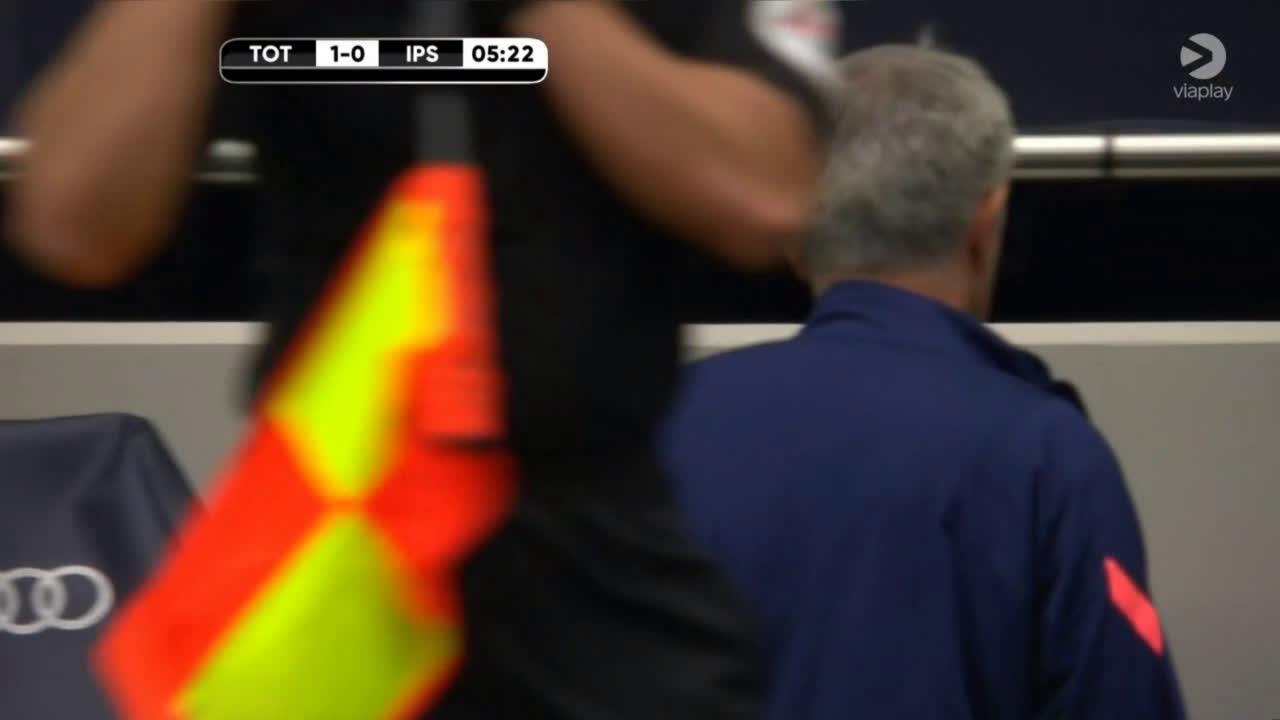 Tottenham [1] - 0 Ipswich - Sessegnon 6'