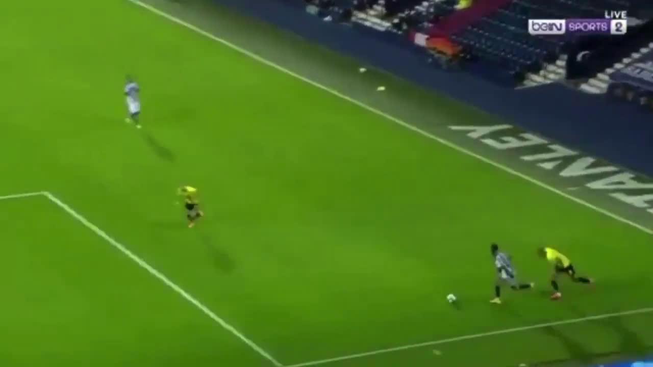 West Bromwich Albion [3]-0 Harrogate Town - Callum Robinson 77'