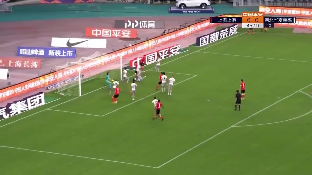 Shanghai SIPG (1)-0 Hebei China - Marko Arnautovic 1st goal