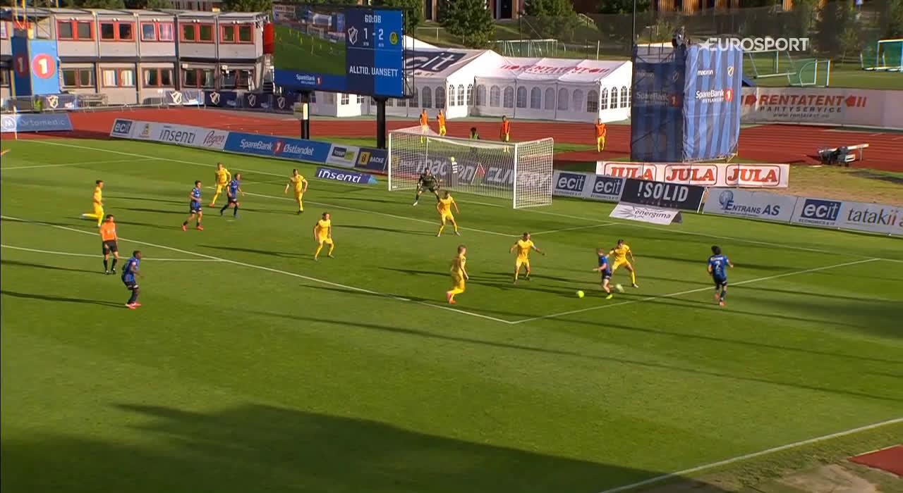 Stabæk [2]-2 Bodø/Glimt - Kornelius Normann Hansen 61'