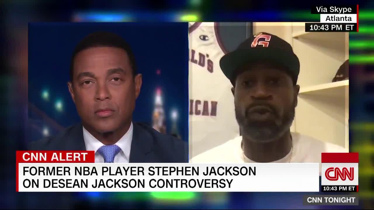Stephen Jackson's full CNN interview