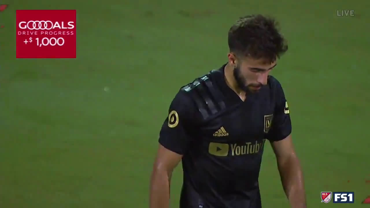 Diego Rossi Great Goal | Houston 3 - [2] LAFC