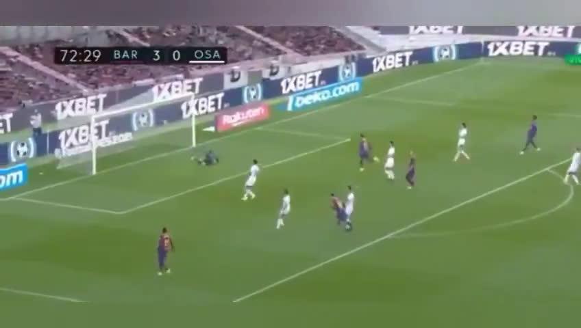 Messi's goal against Osasuna looks like a replica of the goal Maradona scored for Newell's Old Boys