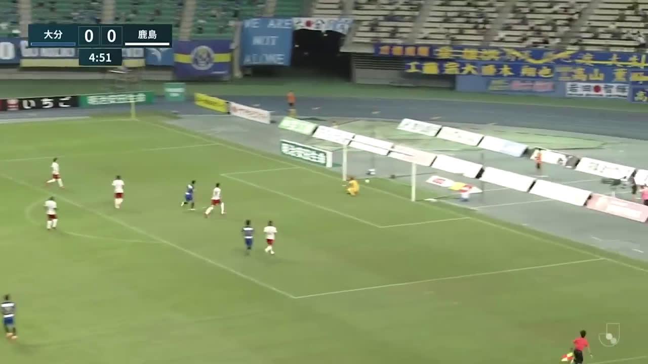 Oita Trinita (1)-0 Kashima Antlers - Yuya Takazawa amazing goal