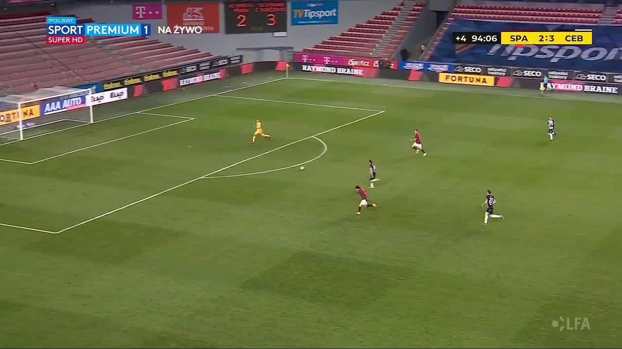 Sparta Praha 2-[4] - Dynamo České Budějovice - Patrik Brandner 90+5'