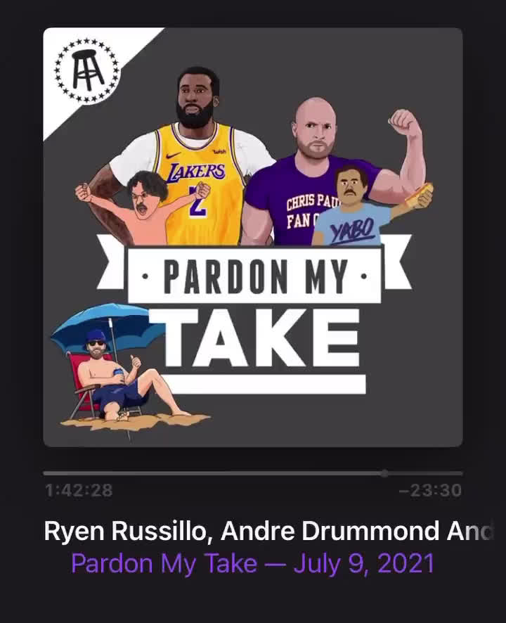 Andre Drummond when asked where he's going to play next season: