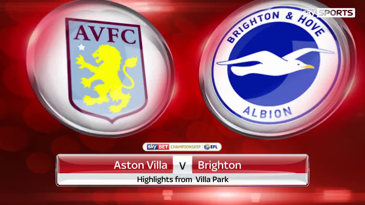 Aston Villa vs Brighton Highlights
