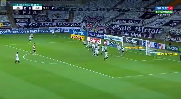 Atlético Mineiro 2 - [1] Gremio - Isaque 55'