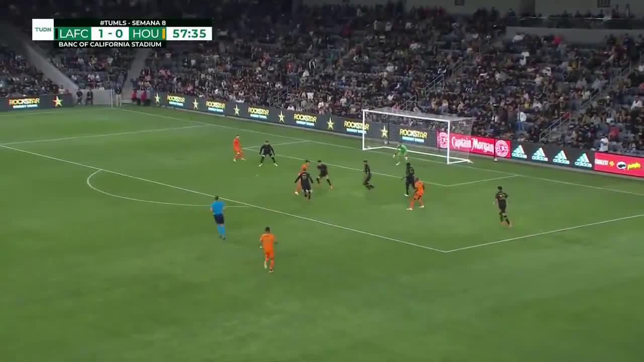 LAFC 1-[1] Houston Dynamo - Maximiliano Urruti 57'