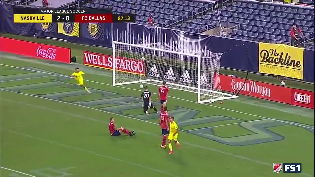 Nashville SC [3]-0 FC Dallas Daniel Rios (Great Goal)