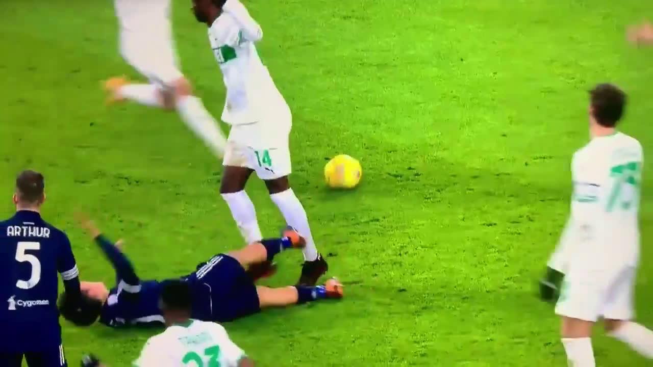 Dybala's dive against Sassuolo