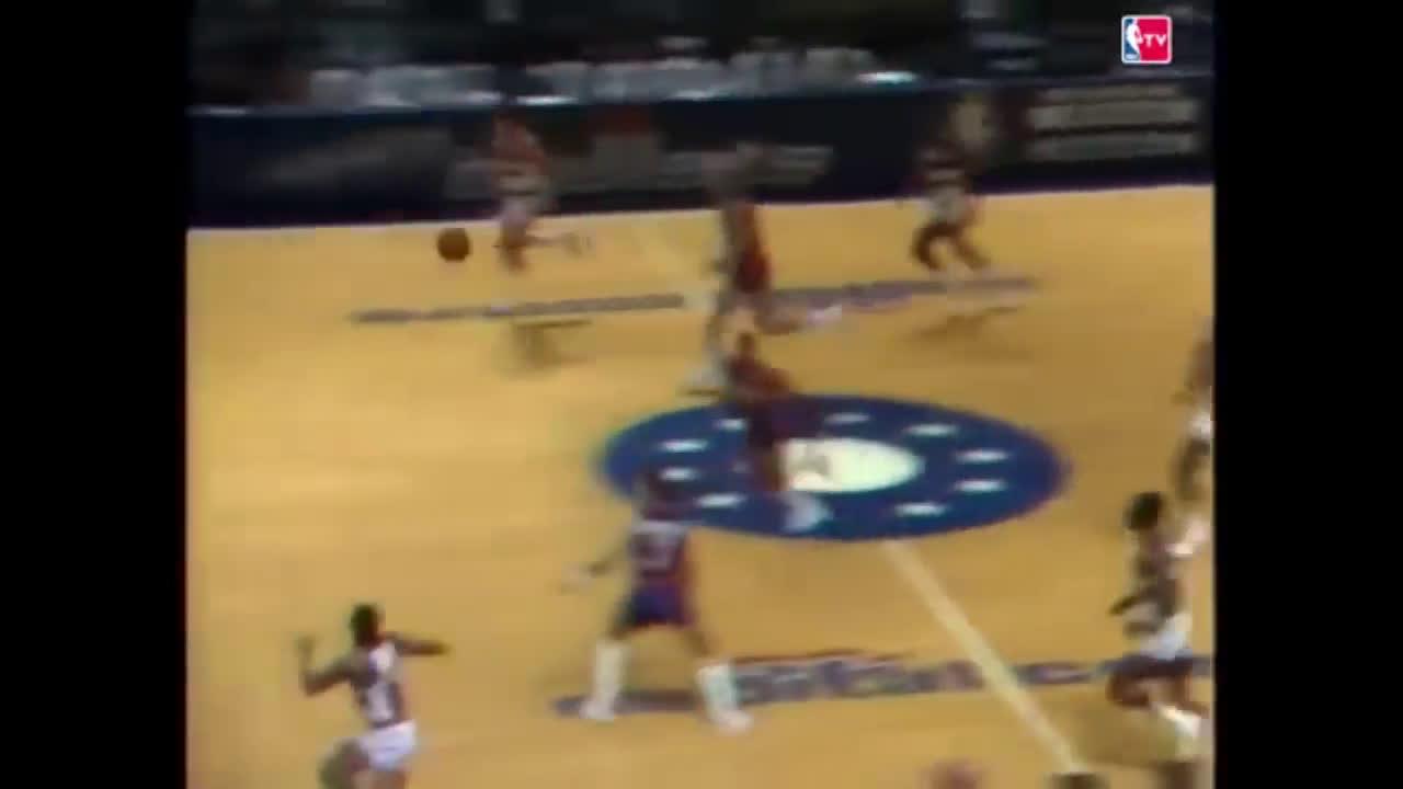 Jeff Malone's game winner vs Pistons (1984)