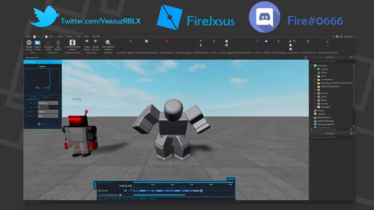 Roblox Studio Gun Animation Animating In Roblox In This Article I Will Explain How To By Firejxsus Medium