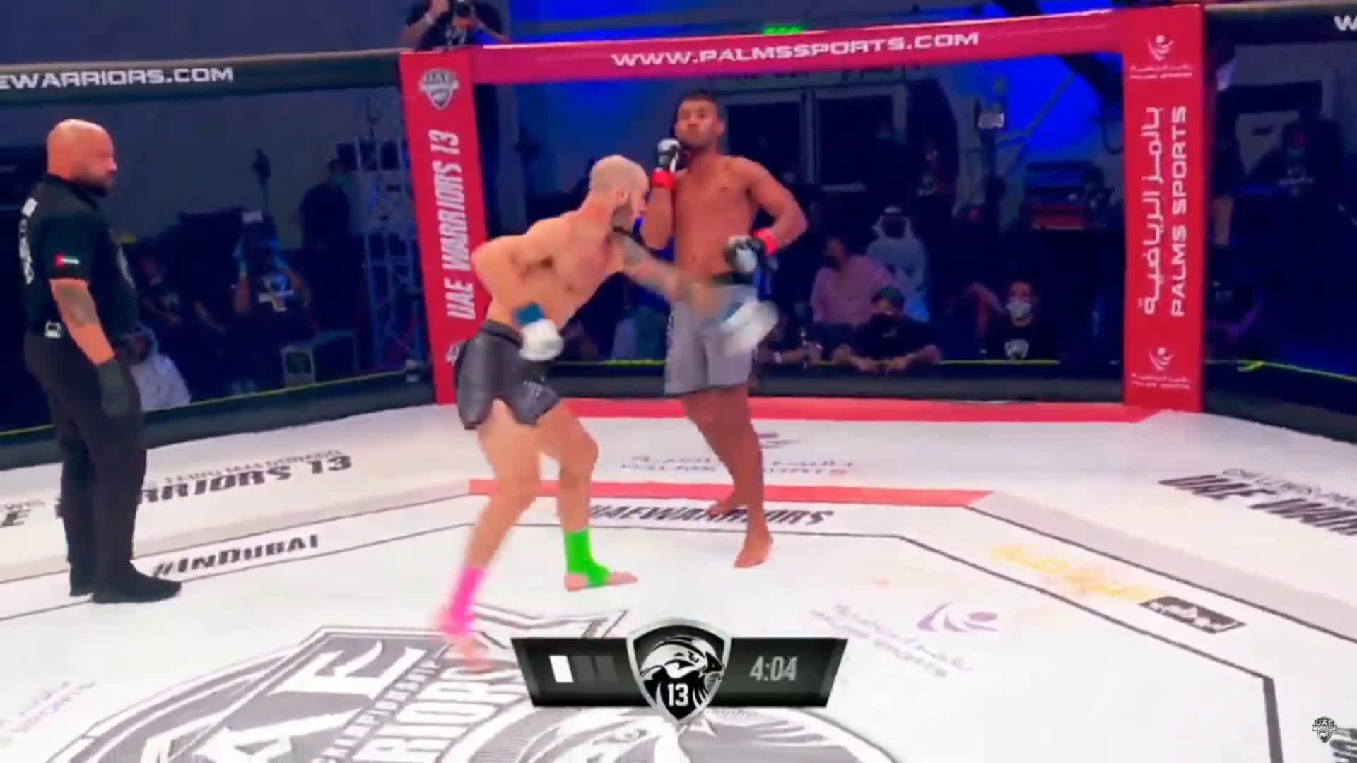 [Spoiler] UAE Warriors 13: Paulo Henrique vs. Sasha Palatnikov