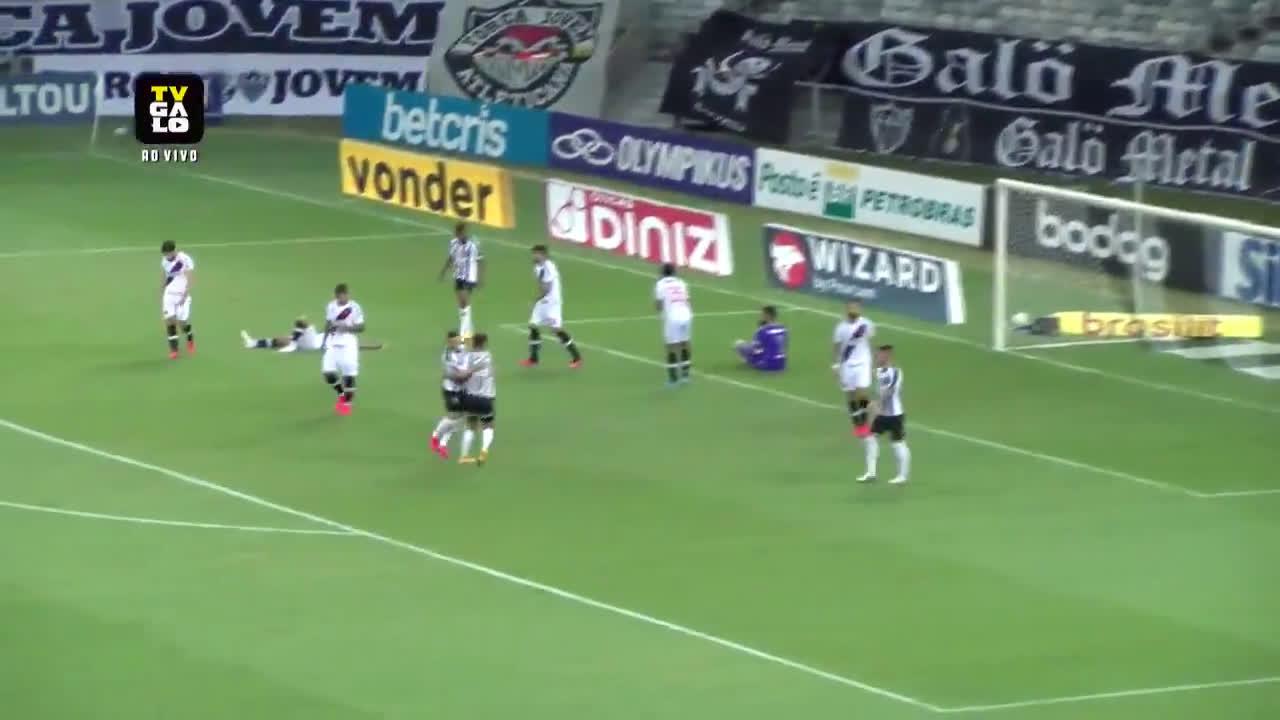 Atlético Mineiro [2] - 1 Vasco da Gama - Savarino 18'
