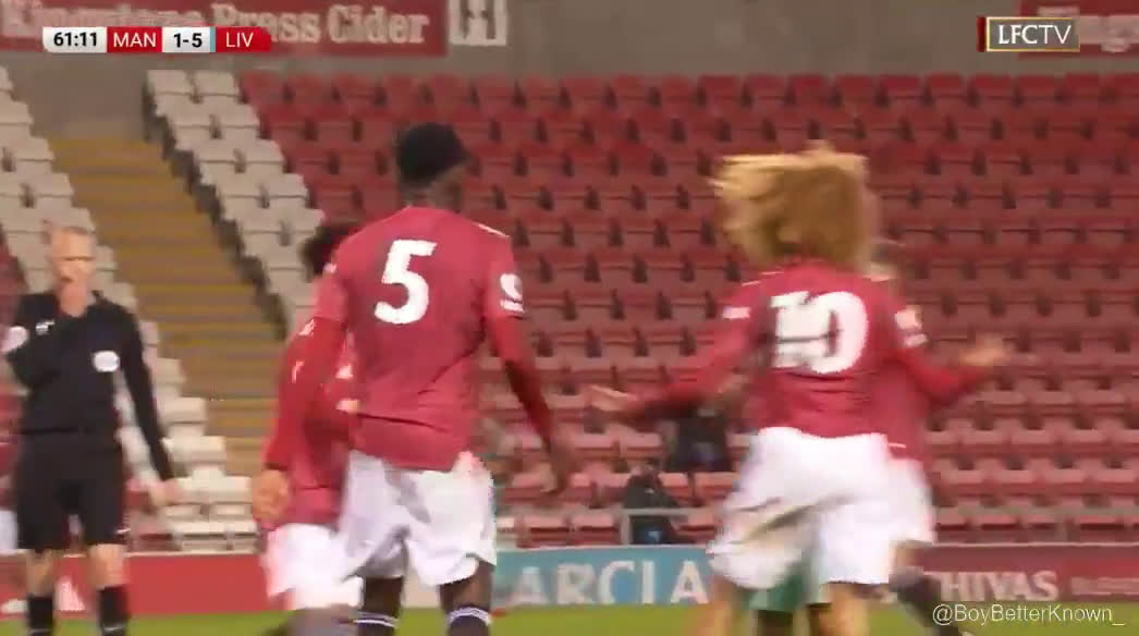 Video Carnage In Man United U23 Vs Liverpool U23 Match After Double Red