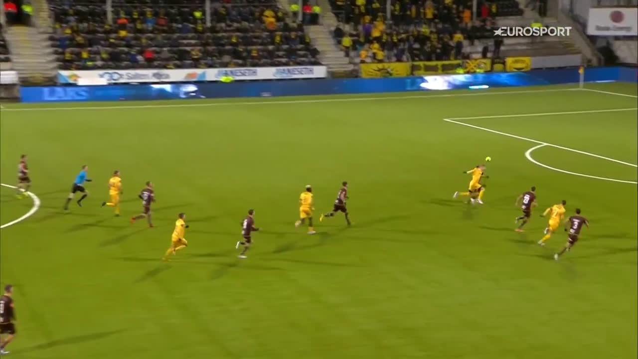 Bodø/Glimt 2-0 Mjøndalen - Kasper Junker 69'