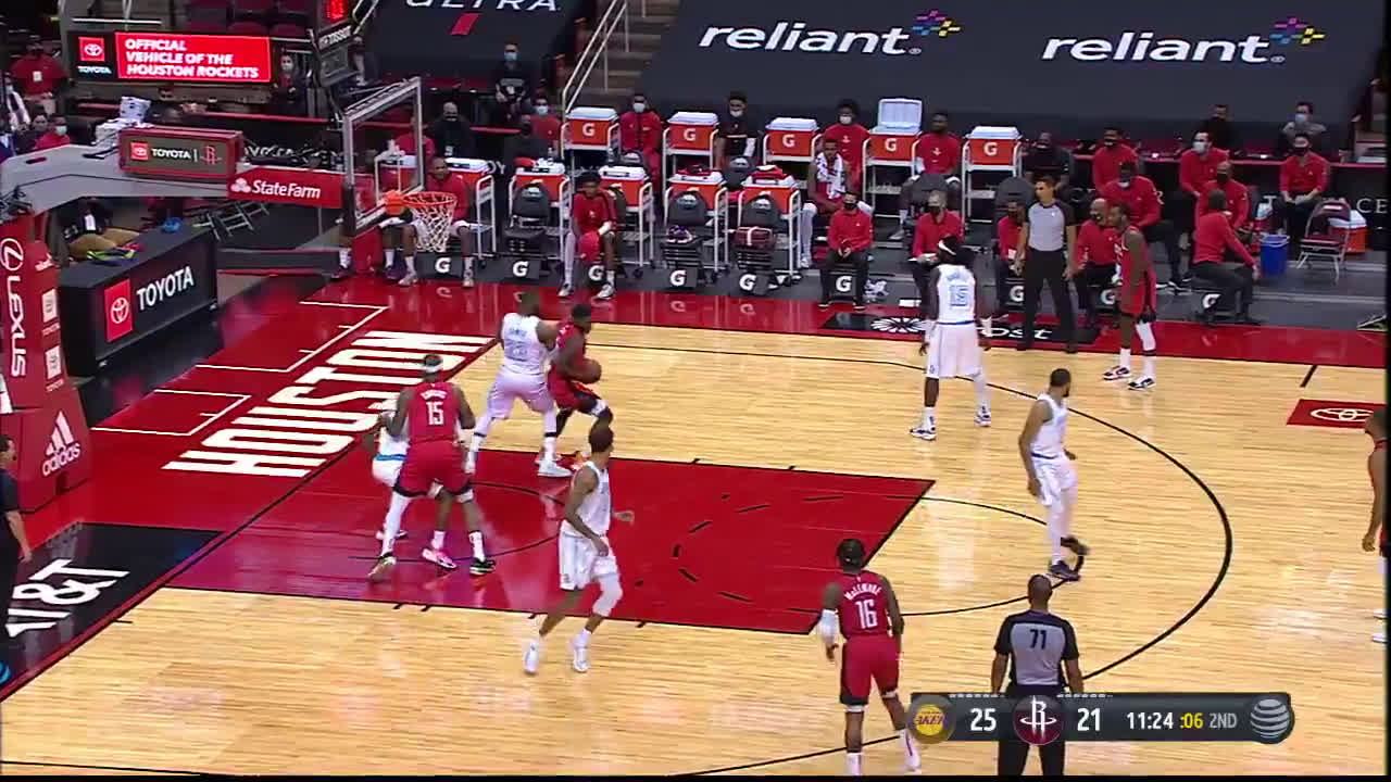 [Highlight] Jae'Sean Tate with a crafty spin move on Lebron!