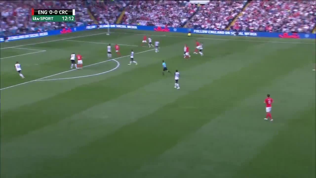 Gif Video Marcus Rashford Goal Vs Costa Rica 2018 Friendly Leeds For England Soccer Blog Football News Reviews Quizzes