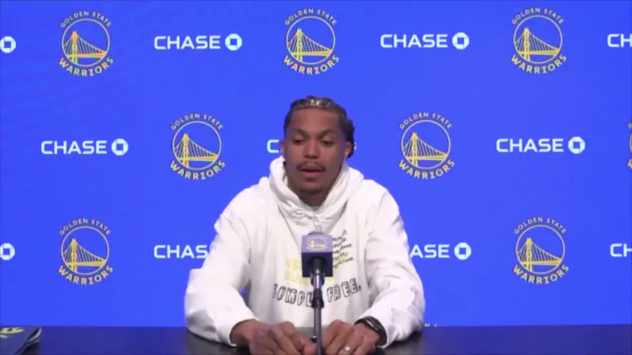 Warriors forward Damion Lee reveals that he became one of the rare people who is fully vaccinated and still tested positive for COVID-19. He explains all the symptoms he went through and is still experiencing, like