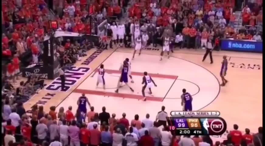 Kobe Bryant hit three tough shots in 2010 WCF to eliminate the Phoenix Suns