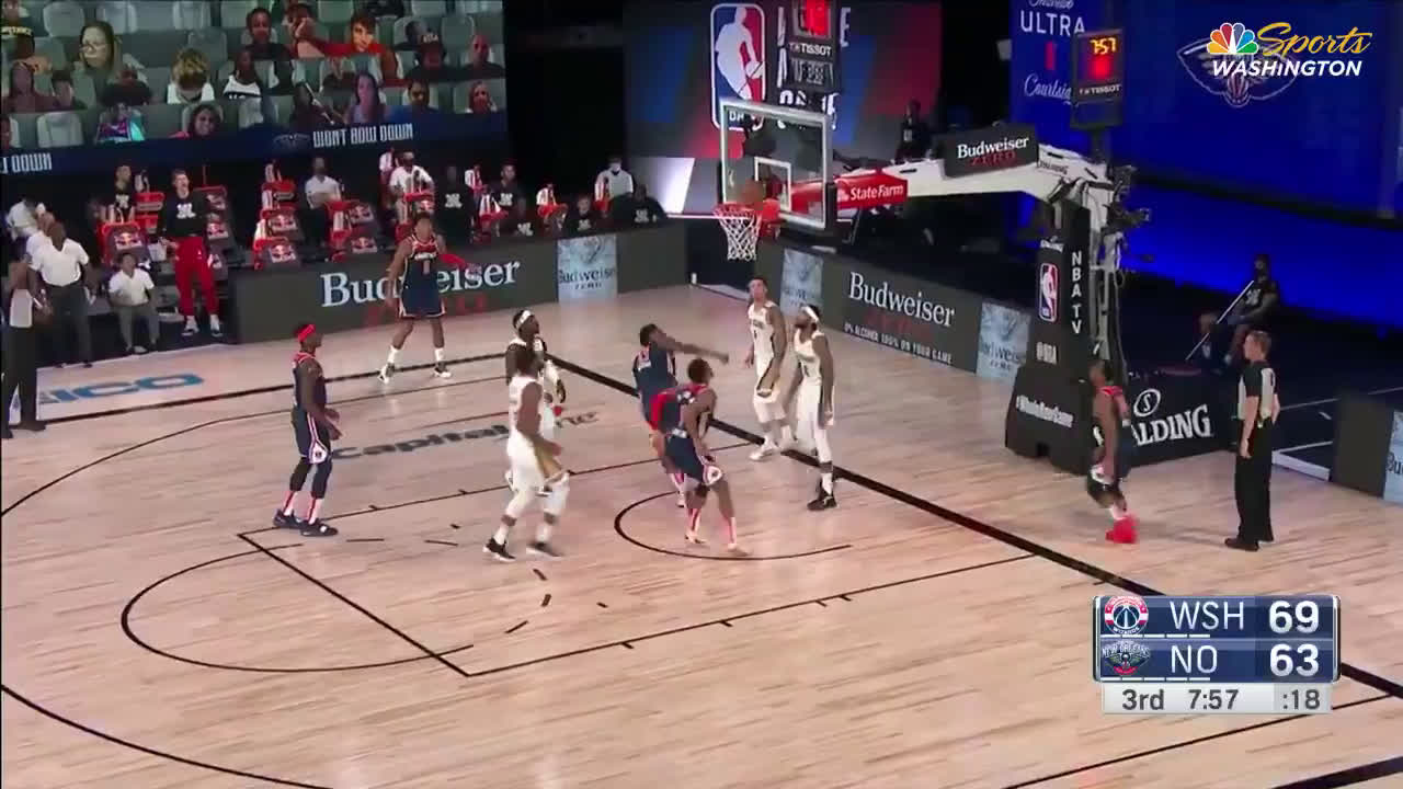[Highlight] Thomas Bryant finishes the wild sequence with the and-1