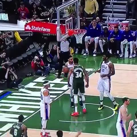 """Giannis says Ben Simmons is """"a baby. a f**king baby."""" After a poster dunk"""