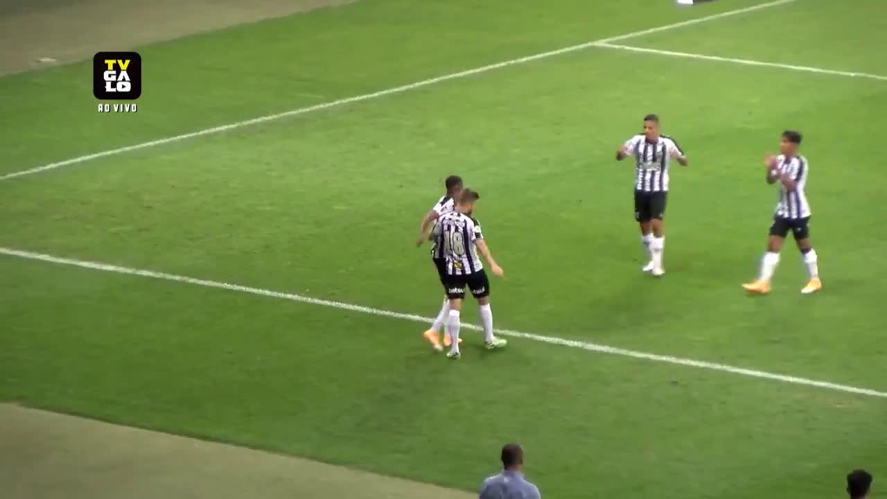 Atlético Mineiro [2] - 0 Gremio - Keno 51'
