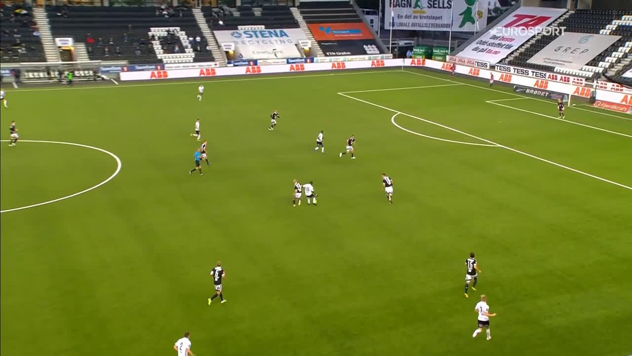 Odd 2-0 Rosenborg - Elba Rashani 55'
