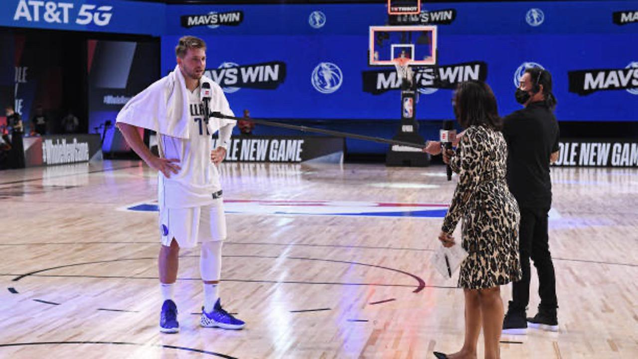 Luka Dončić Does Pushup Postgame For Losing Bet With Coach Despite Career-High 19 Assists & Triple Double