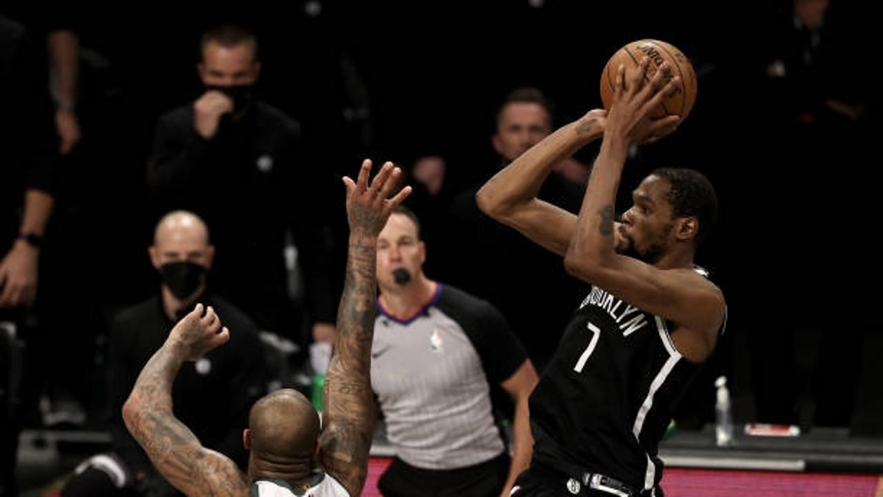 Kevin Durant on game-tying shot to end regulation,