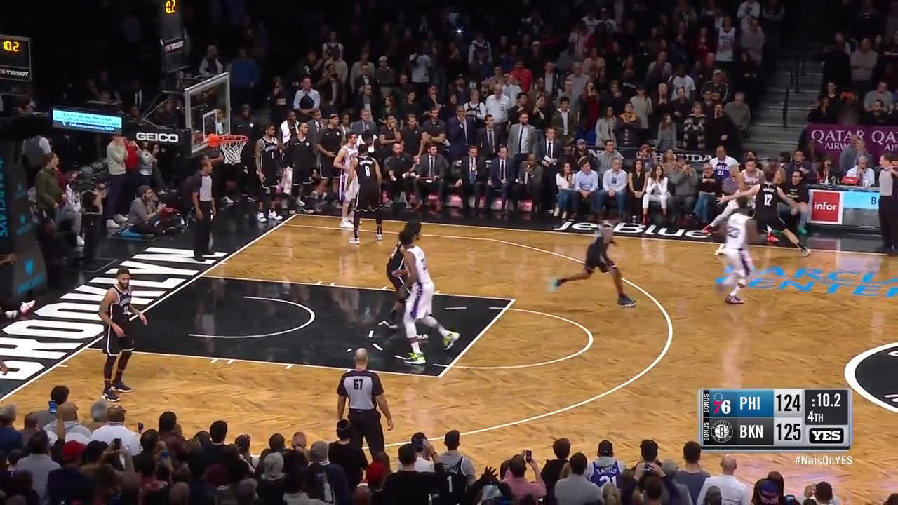 Jimmy Butler hits the Kyrie-esque game winner against Brooklyn. (3 of 3)