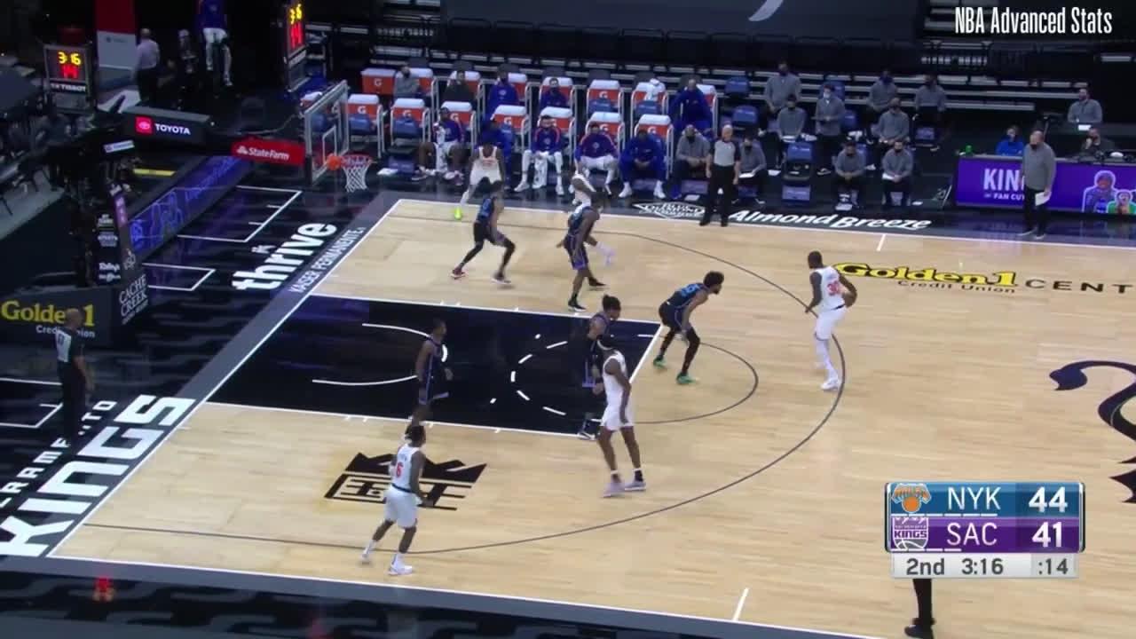 Tyrese Haliburton Highlights Vs Knicks [ 16 pts, career high 4 blocks, 2 assists, 2 steals, 5 rebounds]