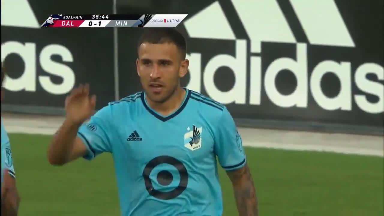 FC Dallas 0-[1] Minnesota United - Franco Fragapane 35'