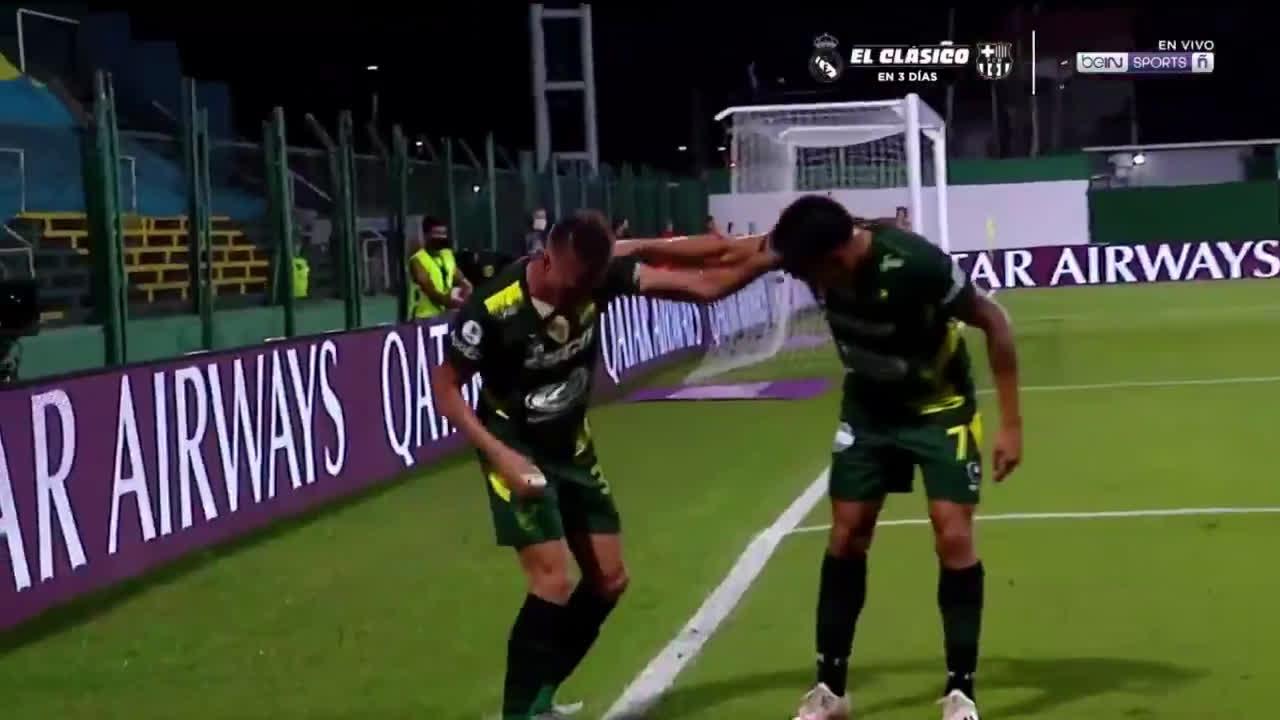 Defensa y Justicia [1] - 1 Palmeiras - Braian Romero 58'