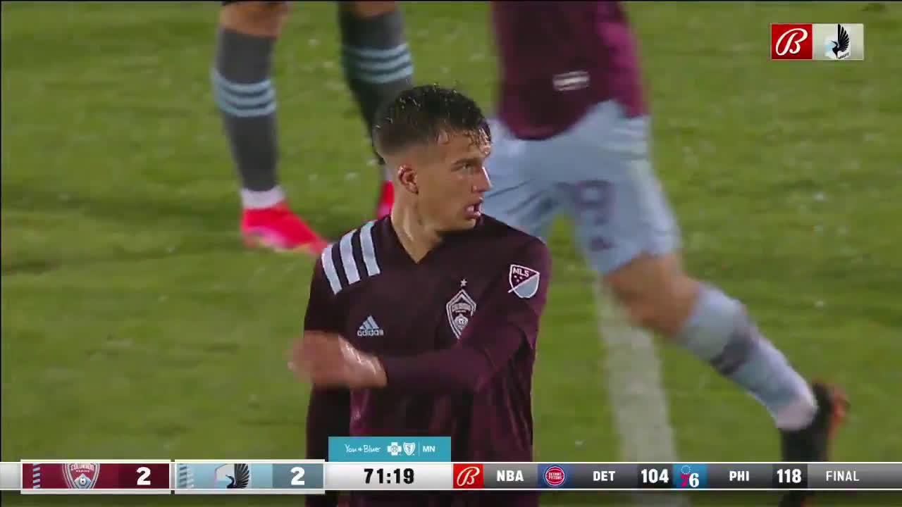 Colorado Rapids [2]-2 Minnesota United- Cole Basset 72'