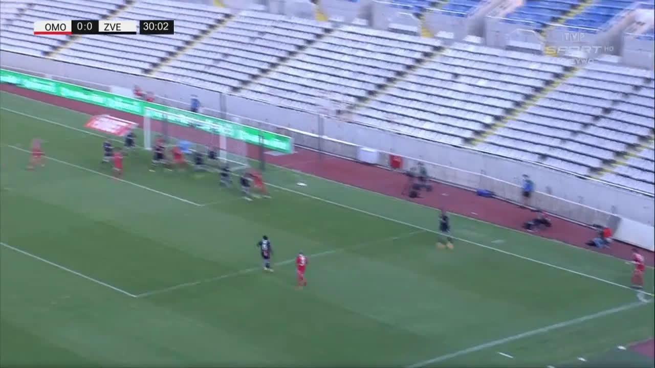 Omonia 1-0 Crvena zvezda - Michael Lüftner 31'