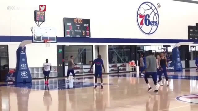 With training camp beginning, the 17-18 Philadelphia 76ers show why practice is important
