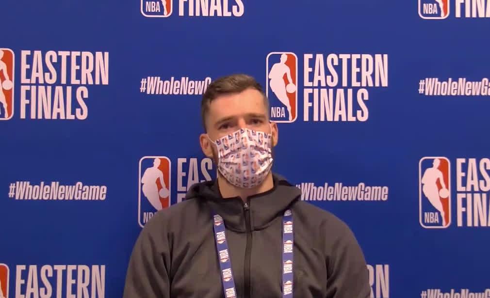 Goran Dragic on Heat's mindset heading into Game 2: