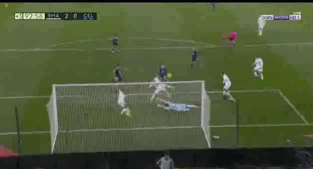 Real Madrid vs Celta Vigo (Nacho Last Minute Save)