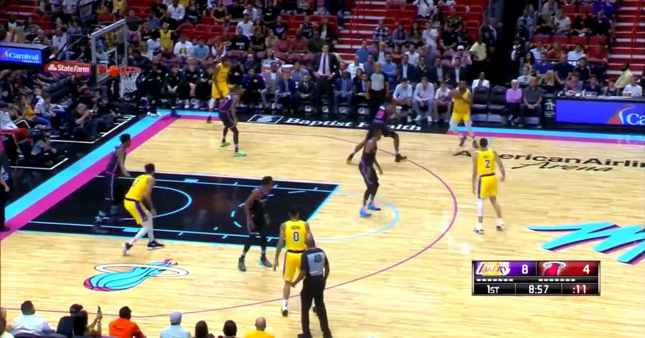 LeBron James shoots like Stephen Curry