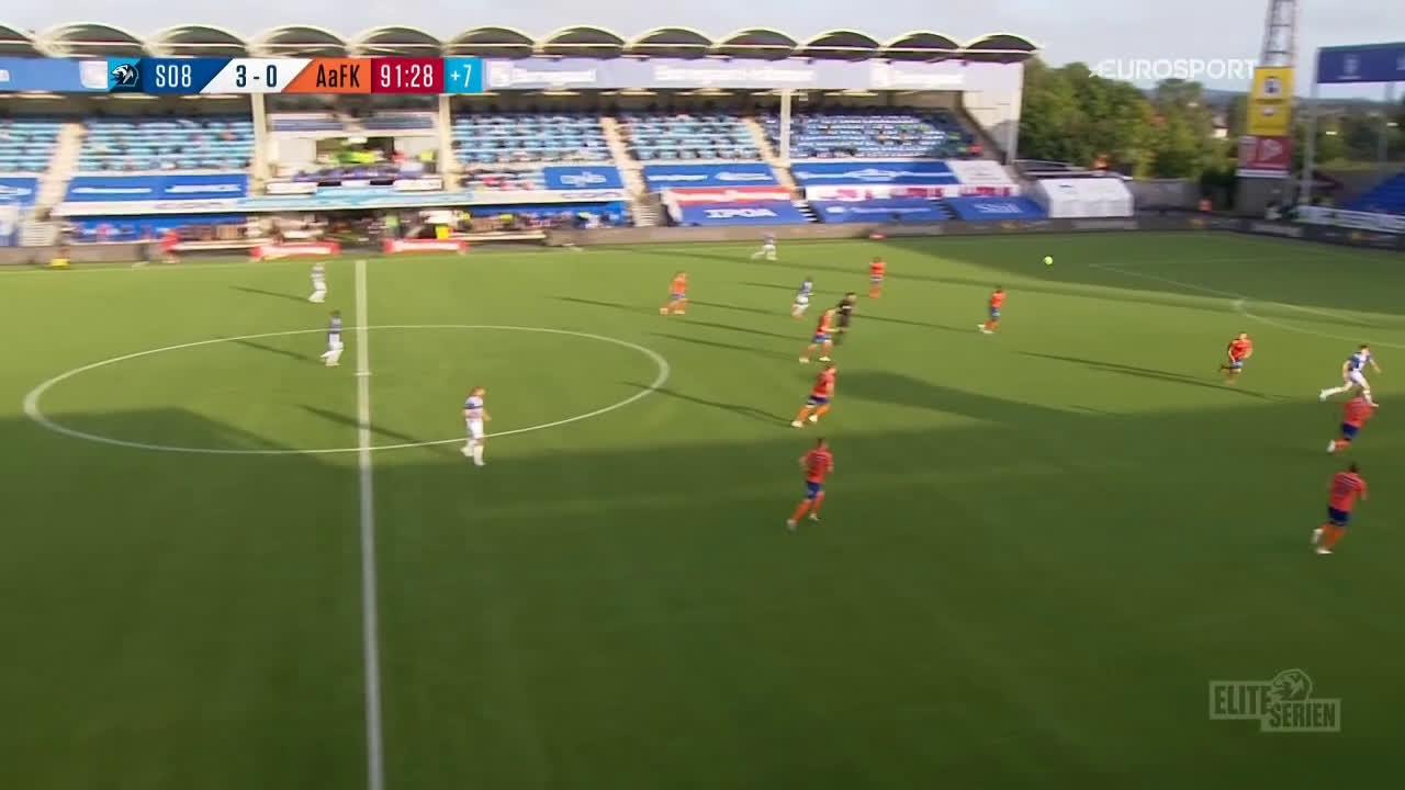 Sarpsborg 08 4-0 Aalesund - Joachim Soltvedt 90+2'