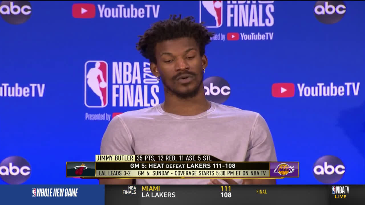Jimmy Butler on being confident despite being down 3-1 before Game 5: