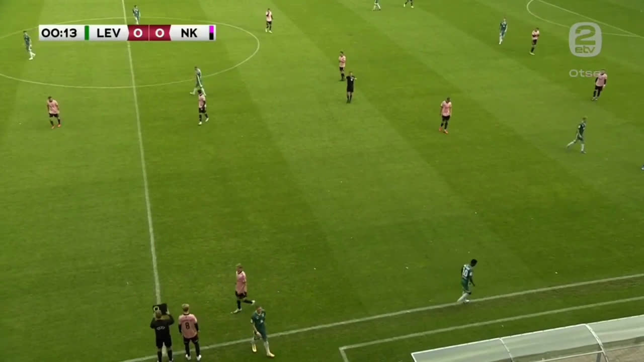 Possibly the fastest substitution in football history: Estonian top division team Nõmme Kalju subs a 16-year old player after just 15 seconds of play