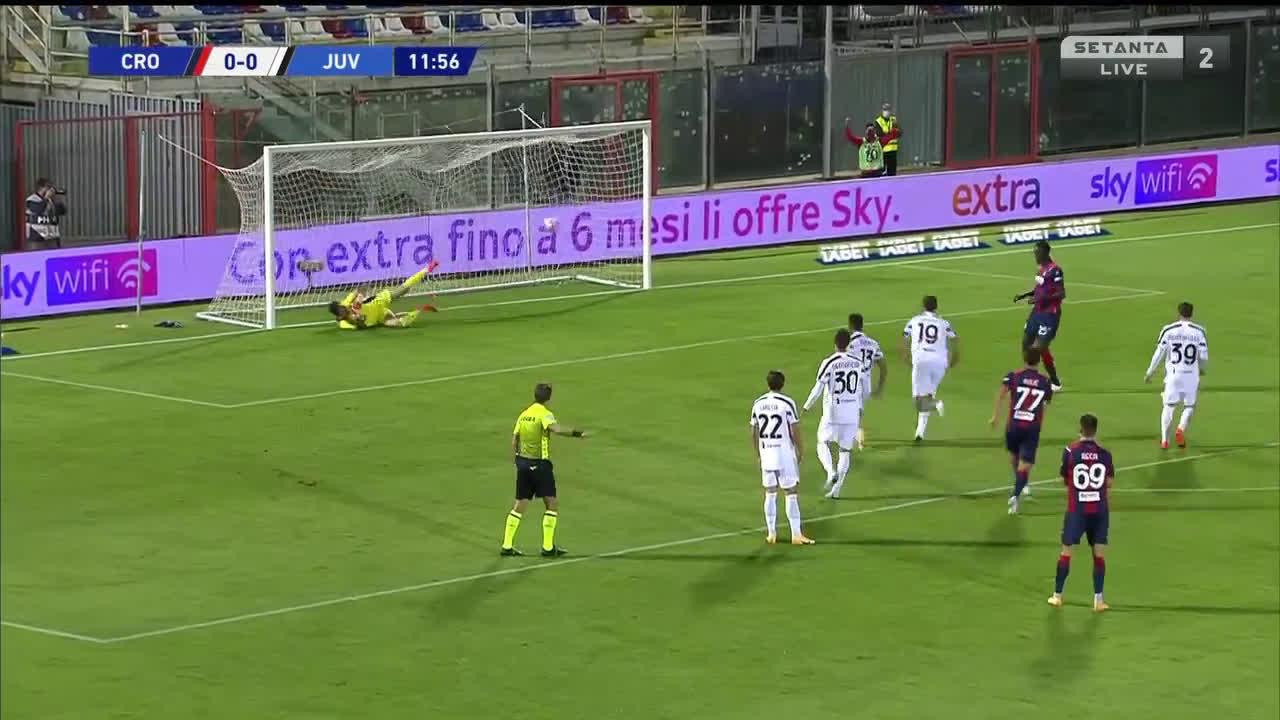 HIGHLIGHTS Crotone-Juventus 1-1 VIDEO GOL: Morata risponde a Simy