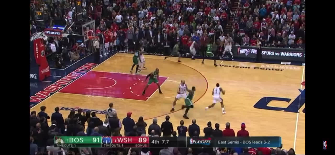Wall hits the game winner against Boston to force a game 7