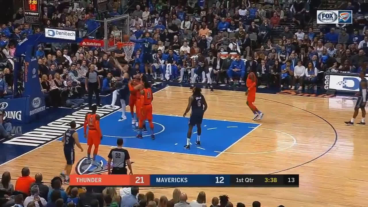 Luka breaks PG's ankles for the layup
