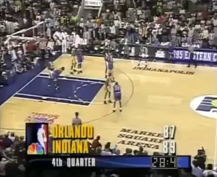 Last 30 seconds of Orlando vs Indiana, Game 4 of the 1995 Eastern Conference Finals