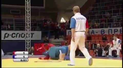 I was watching Fedor Sambo highlights and thought this single leg defense was really cool